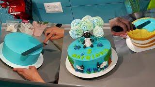 Doğum Günü Pastası Yapımı - Happy Birthday Cake Recipe
