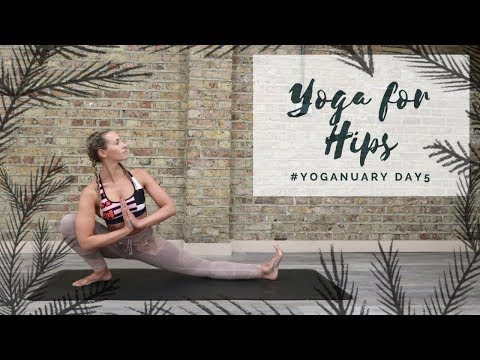 DAY 5: YOGA FOR HIPS   Yoganuary Yoga Challenge   CAT MEFFAN