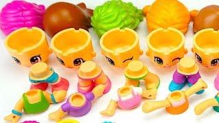 Собираем и играем с куклами Пинипон  Игрушкин ТВ