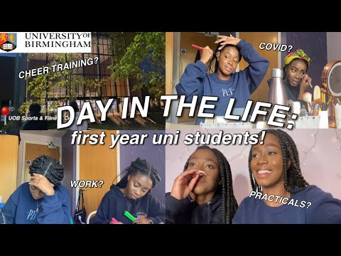 DAY IN THE LIFE OF FIRST YEAR UNI STUDENTS! *University of Birmingham*