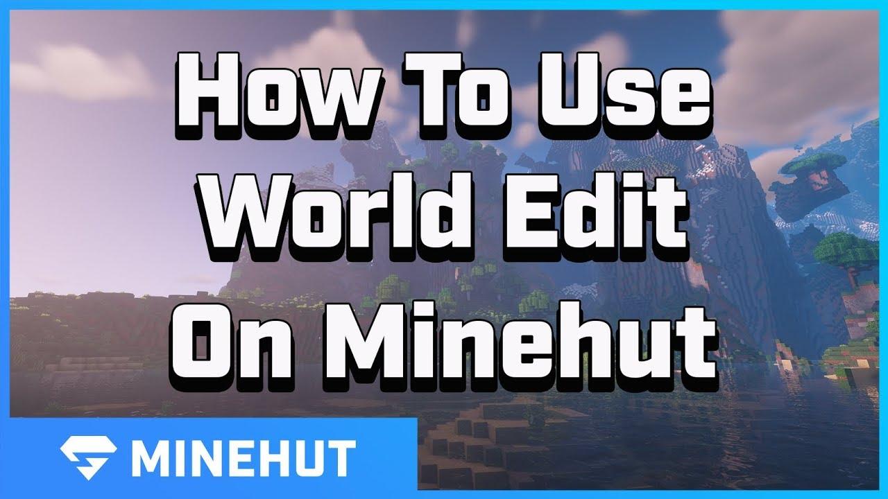 How to use World Edit | Minehut 101