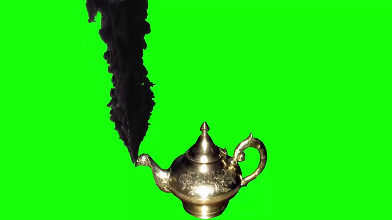 "Green Screen ""ALADIN Magic Lamp"" Black Smoke. - YouTube for Magic Lamp With Smoke  113cpg"