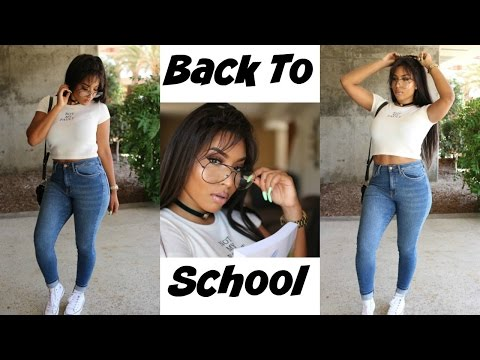Back To School ♡ GRWM || Makeup, Hair(Omgherhair) & Outfit