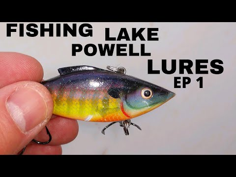 Fishing Lake Powell, Lures, Episode 1