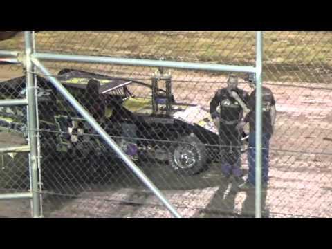 Ark La Tex speedway Limited modified A feature winner Jason Ingalls