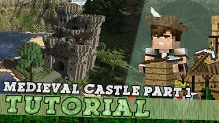 Download Minecraft Tutorial: How To Build A Medieval Keep/Castle - Part One Mp3 and Videos
