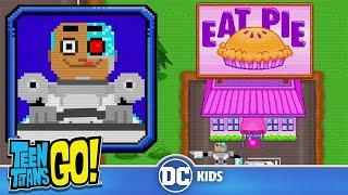 Teen Titans Go! En Español | Cazador de pasteles en 8 bits