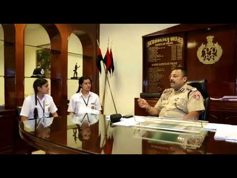 Interview with Commissioner of Police