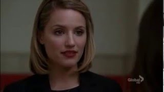Glee   Quinn tells Rachel she shouldn't marry Finn 3x11
