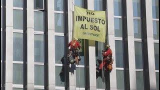 ¡ACCIÓN! Colocamos placas solares en el Ministerio de Energía