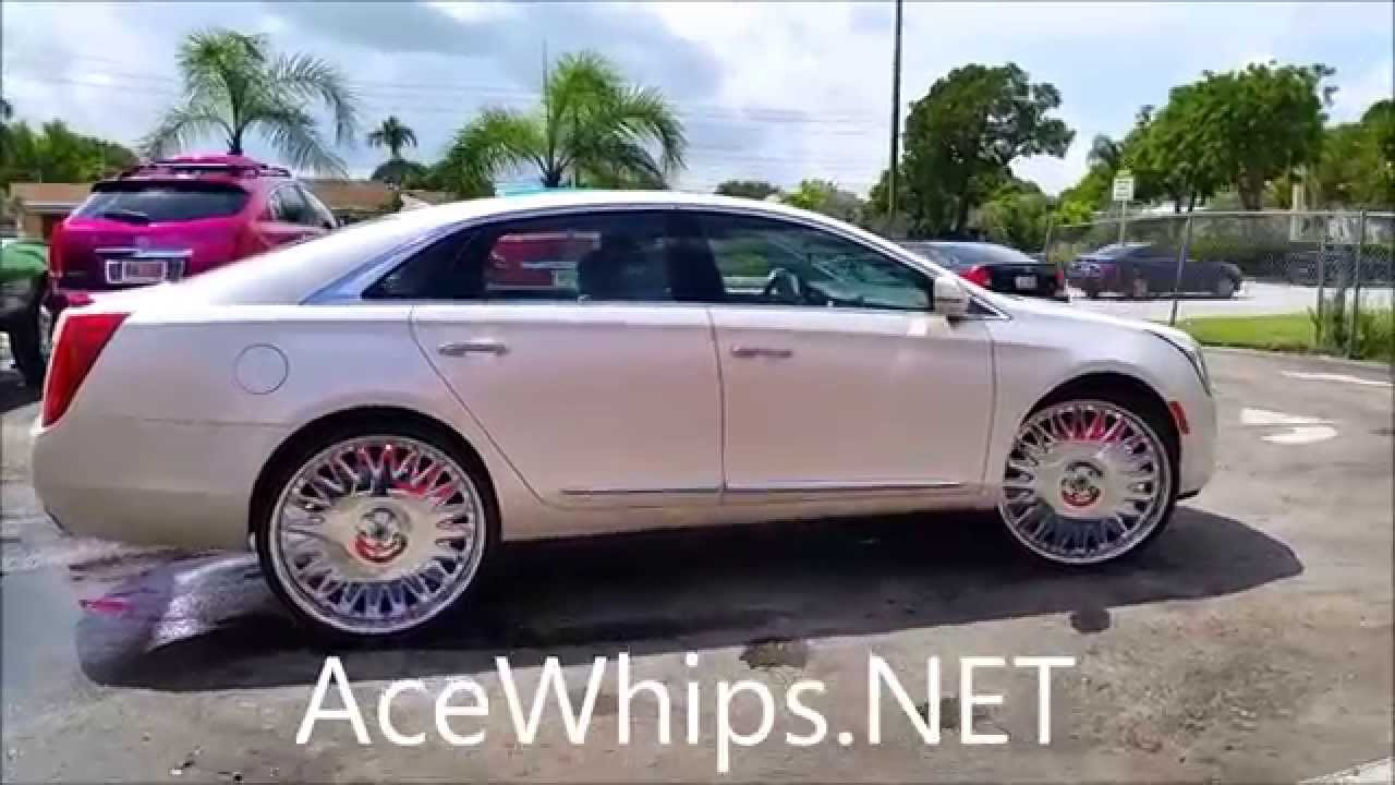 "Cts V Coupe >> AceWhips.NET- First in the World 2015 Cadillac XTS on 26"" Asantis by WTW - YouTube"