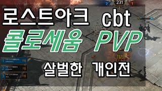 로스트아크 pvp 개인전 살벌하다..