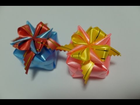 Gift Box Ribbon Youtube