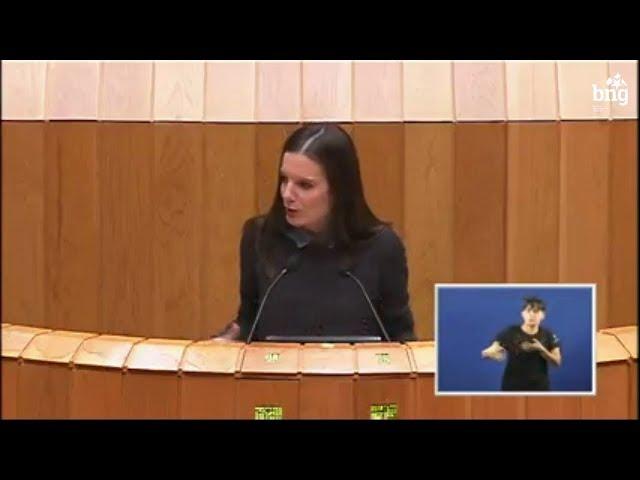 Olalla Rodil defende a posición do BNG a respecto da lei de acompañamento dos orzamentos 2018