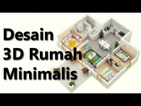 desain-3d-rumah-minimalis-1-lantai-3-kamar-tidur-modern-sederhana