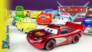Disney Pixar Cars Diecast Toys Part 1 Mattel with Mcqueen Mater Guido Luige New カーズ 2015