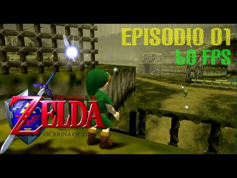 Legend of Zelda: Ocarina of Time (N64 • 3DS) | Episodio 1 | Guia Gameplay en Español | 60fps
