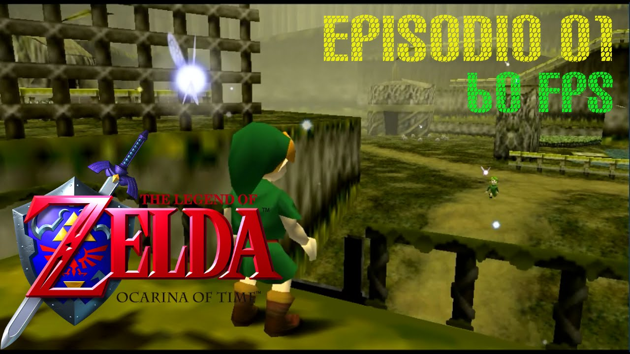 Legend Of Zelda Ocarina Of Time N64 3ds Episodio 1 Guia