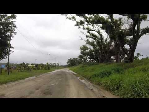 Vanuatu Tanna Route vers Lenakel, Gopro / Vanuatu Tanna Road to Lenakel, Gopro