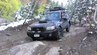 Subaru Forester Off Road - Poughkeepsie Gulch Trail