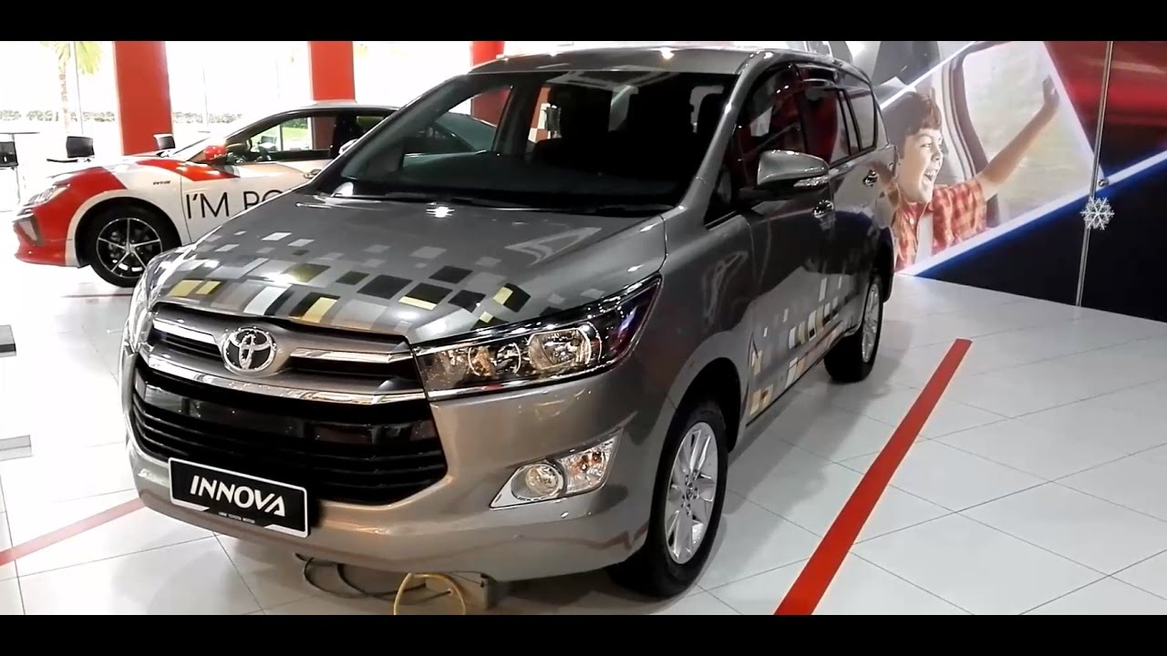 harga all new kijang innova 2017 spesifikasi grand veloz toyota 2 0g exterior interior youtube