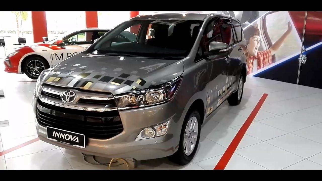 Toyota Innova 2 0g 2017 Exterior Interior Youtube