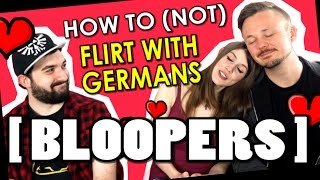 OUTTAKES | Flirting with Germans - with GetGermanized and VlogDave