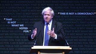 Boris Johnson vs Boris Johnson