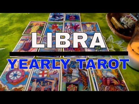 LIBRA : YEARLY TAROTOSCOPE : MARCH 2018 - APRIL 2019