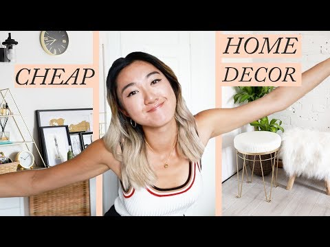 CHEAP HOME DECOR HAUL: Nothing Over $50