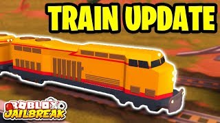 Roblox Jailbreak TRAIN FIXES NEW UPDATE! NO MORE LAGGY TRAINS!?