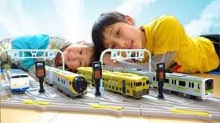 2017年に登場したプラレールの中から、JR四国8600系、「鉄道ホビートレ...