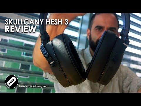 compañero suficiente Qué  EL MEJOR HEADPHONE BLUETOOTH? - SKULLCANDY HESH 3 - Review Español - YouTube