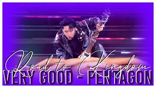 Very Good (Original by Block B 블락비) - PENTAGON 펜타곤 Line dist…