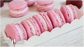 raspberry macarons french macaron recipe tips