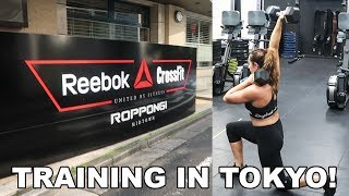 Trying A Regional Workout In Tokyo | Training Vlog