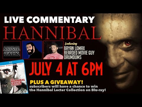 Movie Night: HANNIBAL - Film Commentary (Plus Blu-Ray Giveaway)