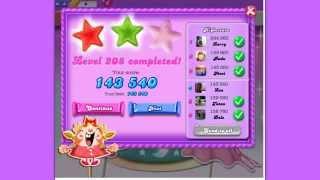 Candy Crush Saga DreamWorld level 208