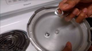 How to replace prestige pressure cooker safety valve
