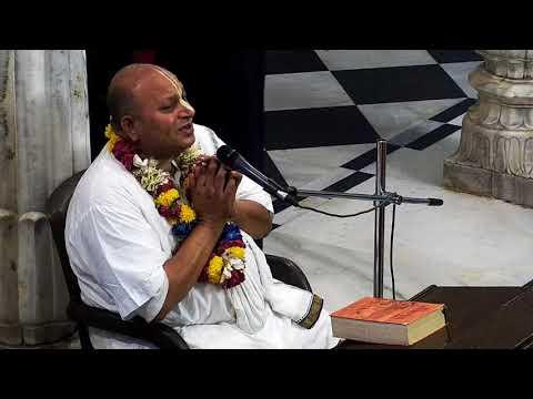 Evening Bhagavad Gita Hindi Class 02 61 by Hanuman Prabhu on 15th May 2018 at ISKCON Juhu