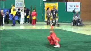 Ушу соревнования тао-лу среди детей