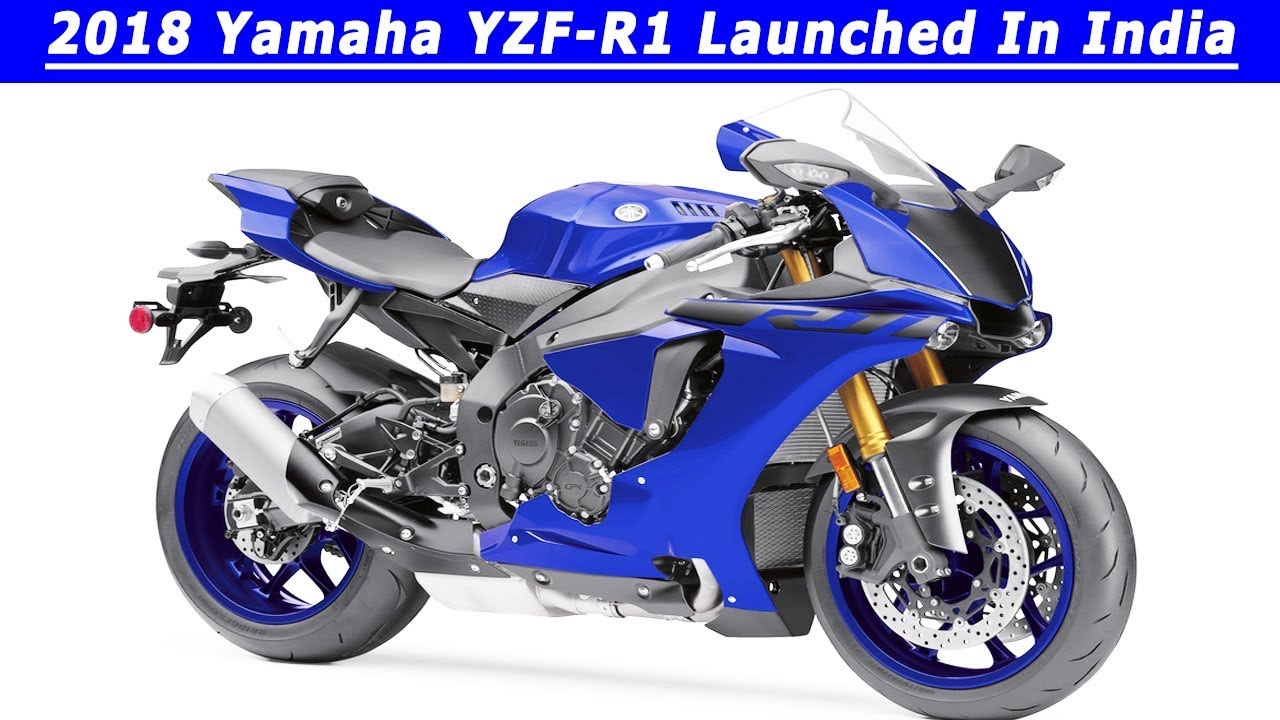 2018 yamaha yzf r1 launched in india price lakh youtube. Black Bedroom Furniture Sets. Home Design Ideas