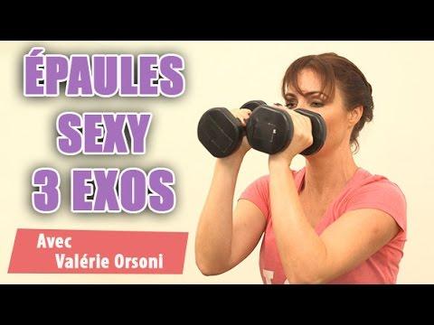 Exercices pour avoir de Beaux bras, de belles épaules musclées  Par Valérie Orsoni