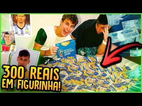 GASTEI R$300 EM FIGURINHAS DO ÁLBUM DA COPA!! ( FIGURINHAS RARAS )  [ REZENDE EVIL ]