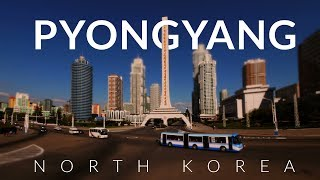 Peculiar Pyongyang - North Korea (DPRK) 4k -Time lapse -Tilt- shift