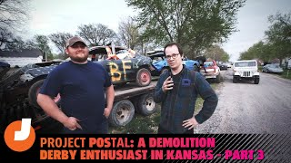 homepage tile video photo for Project POStal: A Demolition Derby Enthusiast In Kansas - Part 3