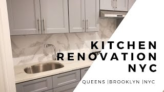 Kitchen Renovation NYC | Complete Timplase of A NYC Kitchen Renovation