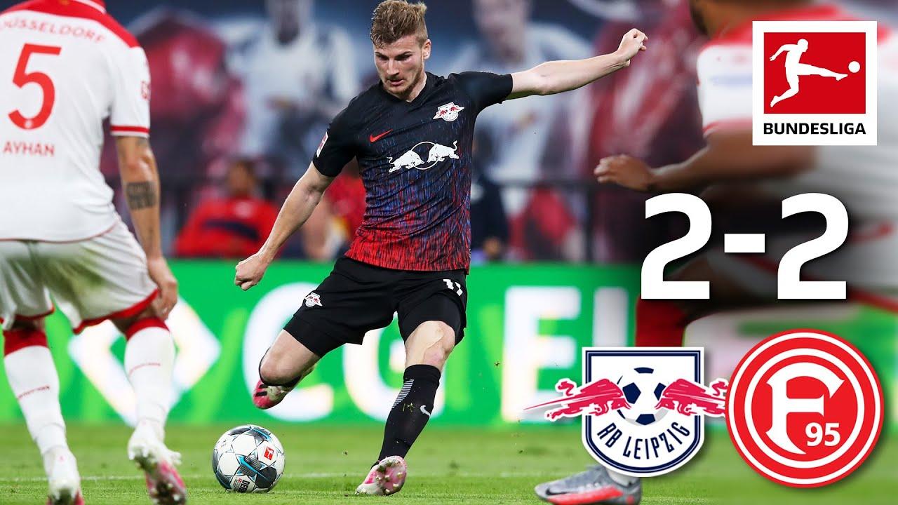 РБ Лейпциг – Фортуна 2:2 | Футбольное видео