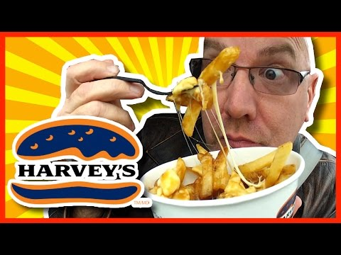 Harvey's Poutine Taste Test & Review | KBDProductionsTV