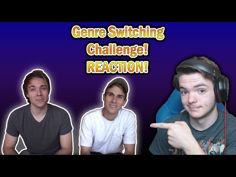 Reacting To Black Gryph0n: GENRE SWITCHING CHALLENGE! **VERY IMPRESSIVE**